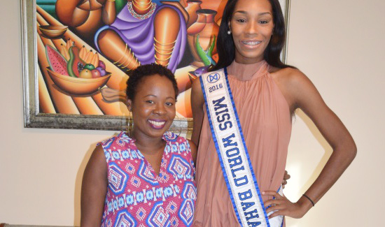 BTVI Graduate Creates Chic Outfit For Beauty Queen