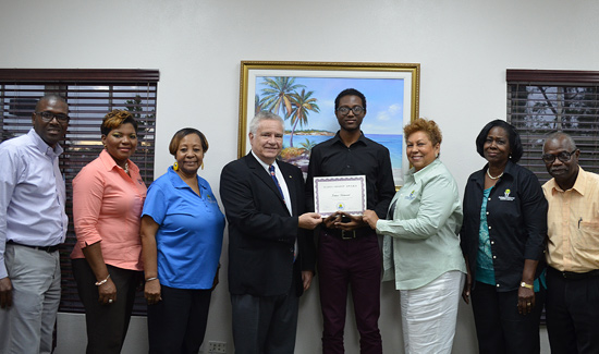 BTVI Student Secures Cooperative League Scholarship