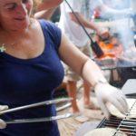 Grilling Greek Gyros
