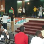 Contestants on Stage