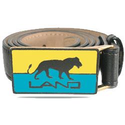 Land Lion Belt Buckle