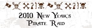 New Year's Pirate Raid