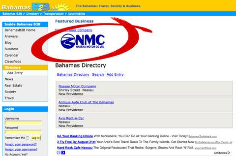 Premium Directory Listing