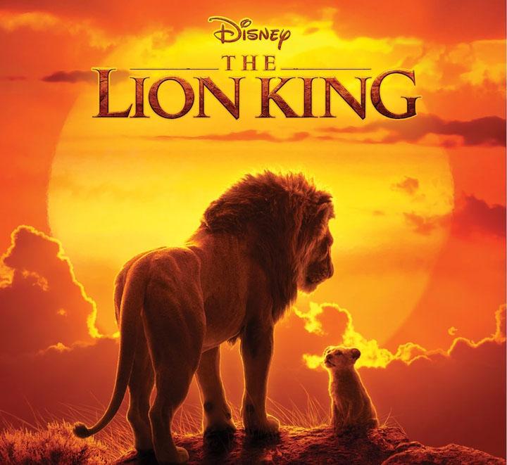 "Scene from Walt Disney's ""The Lion King"""