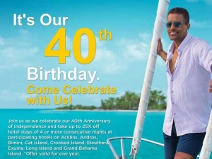 Bahamas Turns 40, Looks Better Than Ever
