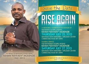 Memorial Plans For Bahamian Gospel Legend