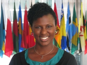 Embassy Nassau Welcomes Newest Diplomat with Bahamian Lineage