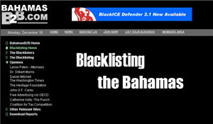 The Blacklisting of The Bahamas