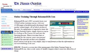 BahamasB2B Online Training Center