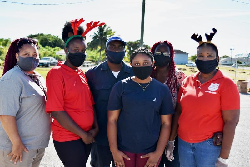 Salvation Army volunteers