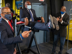 PM Opens World-Class MacFit 360 Fitness and Performance Centre