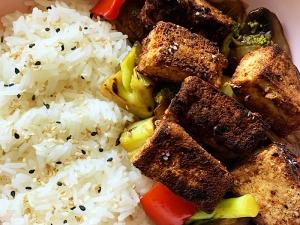 Crispy Five-Spice Tofu
