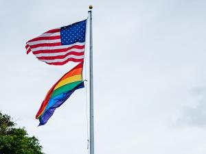 U.S. Embassy Flies Pride Flag for Month of June