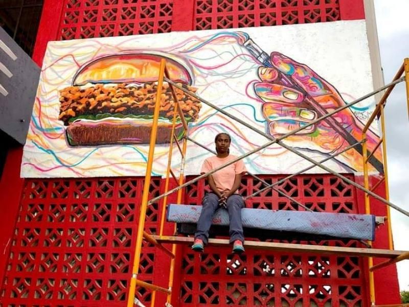 Mural by Minolta Butler