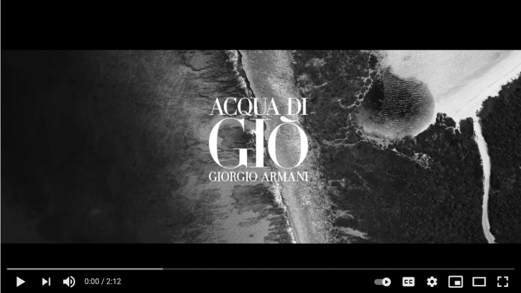 Cover image of Acqua Di Gio video